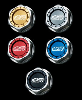 MUGEN Hexagon Oil Filler Cap [GRAY SILVER] (15610-XG8-K2S0-S) by Mugen