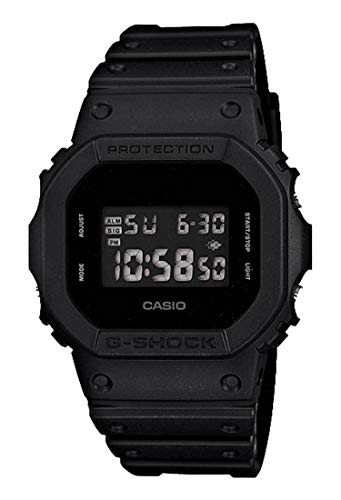 - Casio Men's 'G Shock' Quartz Resin Casual Watch, Color:Black (Model: DW-5600BB-1CR)