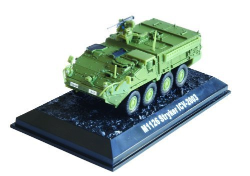 M1126 Stryker ICV - 2003 diecast 1:72 model (Amercom BG-14) from M1126 Stryker ICV - 2003 diecast model