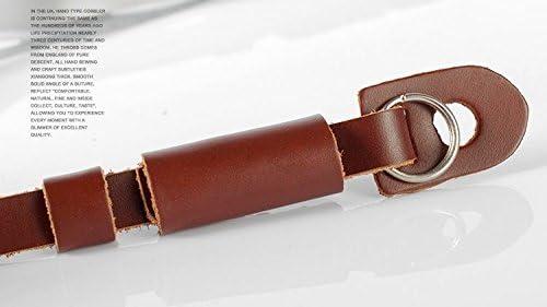 Gadget Place Brown Light Weight Leather Wrist Strap for Olympus Stylus SH-3 SH-2 SH-2 XZ-10 SH-50 XZ-2 iHS VH-515 VH-410 SZ-31MR VR-340