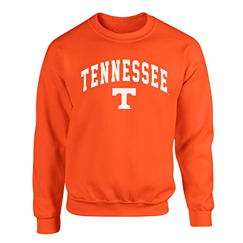 (Elite Fan Shop Tennessee Volunteers Crewneck Sweatshirt Arch Orange -)