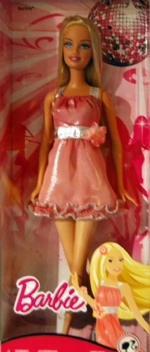 Barbie Fashion Fever Disco Ball Barbie in Pink Mini Dress -