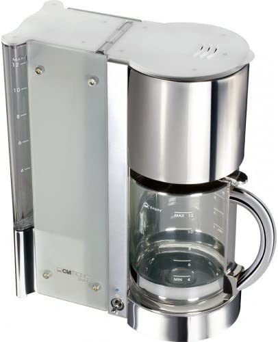 Clatronic KA 3094 - Cafetera eléctrica, color plateado: Amazon.es ...