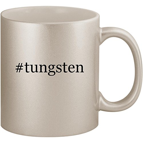 (#tungsten - 11oz Ceramic Coffee Mug Cup, Silver)