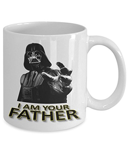 Fathers Day Gifts - Star Wars Mug - I Am Your Father Mug - Funny Coffee Mug - Gift For Dad From Daughter Son Wife - Darth Vader Coffee Mug 11 oz
