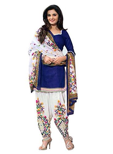 DivyaEmporio-Womens-Faux-Crepe-Blue-Salwar-Suit-Dress-Material