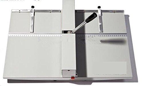 (350mm/ 13.7inch Manual creasing perforating machine 2 in 1 paper creaser and perforator Creasing depth: 0.4mm)