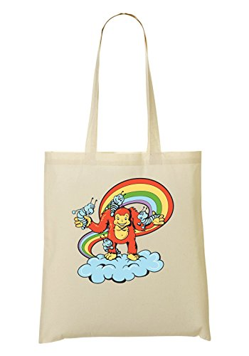 Worms à tout Rainbow With Sac Playing Sac provisions Monkey Fourre qBSO8nF