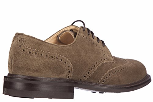 Church's chaussures à lacets classiques homme en daim newark derby castor marron