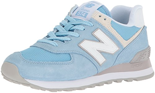 Balance Trainers 574v2 Blue Blue Women's New d7tHq7