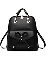 GAROHIA Womens Cute Leather Backpack Fashion Daypacks Purse for Girls