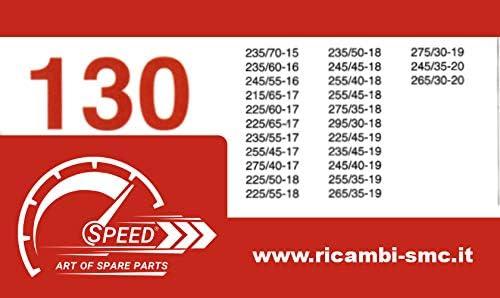 Catene da Neve OMOLOGATE Speed 9mm per GOMME 235 50 R 18 Gruppo 130