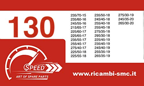 Catene da Neve OMOLOGATE Speed 9mm per GOMME 225//50 R 18 Gruppo 130
