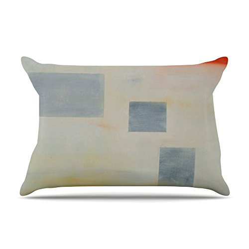 30 X 20 30 X 20 CR2012APC01 30 by 20-Inch Kess InHouse Cathy Rodgers Map to Childhood Gray Blue Standard Pillow Case
