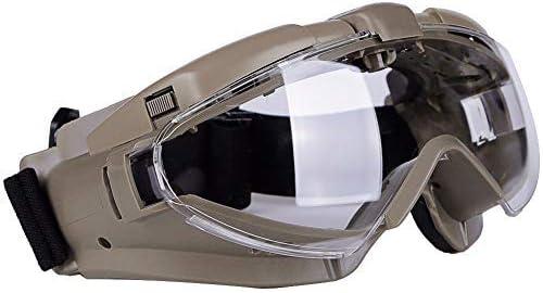 Gafas de protección para paintball, gafas de seguridad, para cocina, laboratorio, rayos UV, química y bicicleta, gris