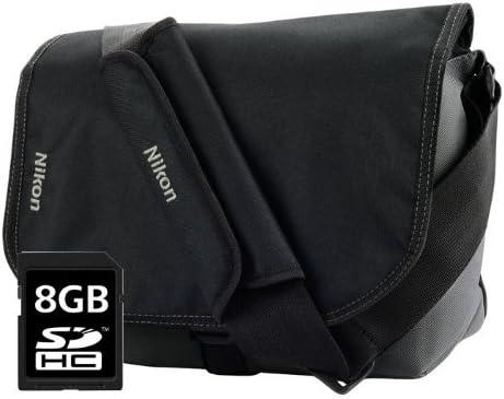 Nikon CFEU05 - Pack de maletín y Tarjeta de Memoria SDHC de 8 GB ...