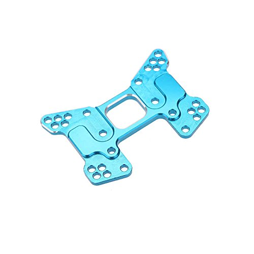 Dropshipping 106023(166023) Upgrade Parts Aluminum Rear Shock Tower for HSP 1/10 4WD Off-Road Buggy RC Cars Blue US - Quarkscm