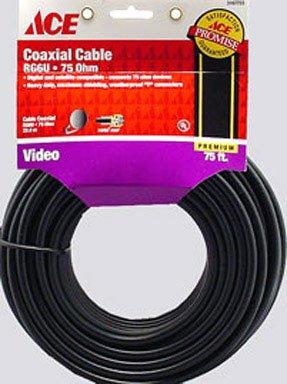 (Cable Coax Rg6 75' Blk)