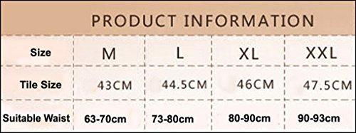 Aivtalk - Bragas Adelgazante Body Reductoras Slip Lencería de Cintura Alta para Abdomen Moldeadora para Mujeres Recuperación Postparto Transpirable - Negro Color de Piel - Talla asiática M L XL XXL Negro
