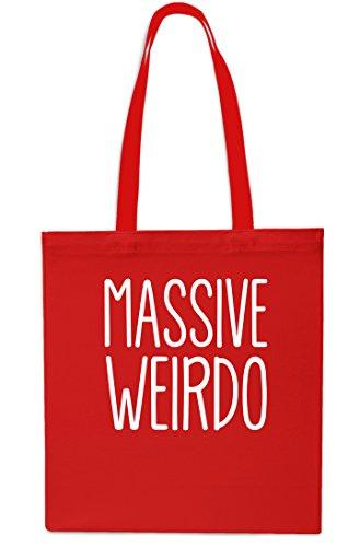 Red x38cm Small Black 42cm litrest Tote 10 Massive Beach Bag Weirdo Shopping Gym C7xT7O