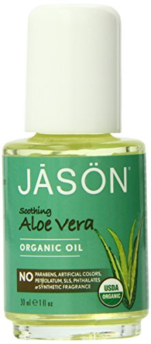 JASON Soothing Aloe Vera Organic Oil, 1 Ounce