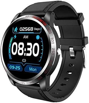 NiceFuse Smart Watch, Reloj Deportivo Resistente Al Agua con Monitor de Frecuencia Cardíaca Monitor de Oxígeno en Sangre, Reloj Inteligente con Monitor de sueño 10 Modos Deportivos