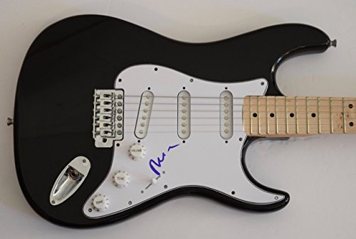 Mike Rutherford Signed Autograph Electric Guitar Mike & The Mechanics (Rutherford Autograph)