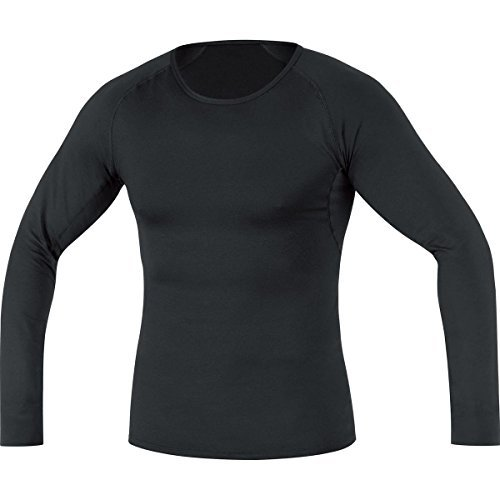 Gore Essential Running Wear Men's Long-Sleeve Base Layer black Size:XL by Gore Running Wear by Gore Running Wear