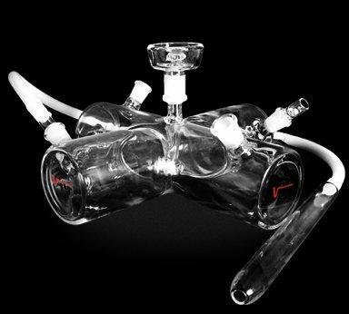 The X Glass Hookah By Vapor Hookahs by Vapor Hookahs