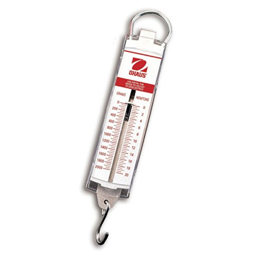 - Ohaus 8262-M0 Pull-Type Hanging Spring Scales, 200g x 2g