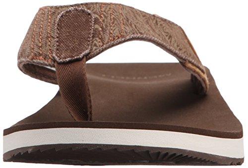 Merrell Men's J71165 Flip Flop Brown / Beige moYo8yCHau