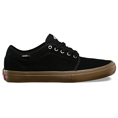 Vans Chukka Low Pro Black/Gum Mens Sneakers (7 Mens)
