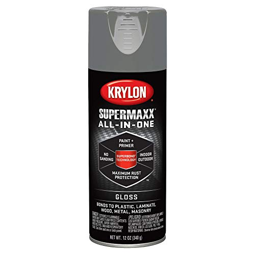 (Krylon K08966007 Smoke Gray Enamel (Actual Net Contents: 12-oz) Spray Paint, 12)