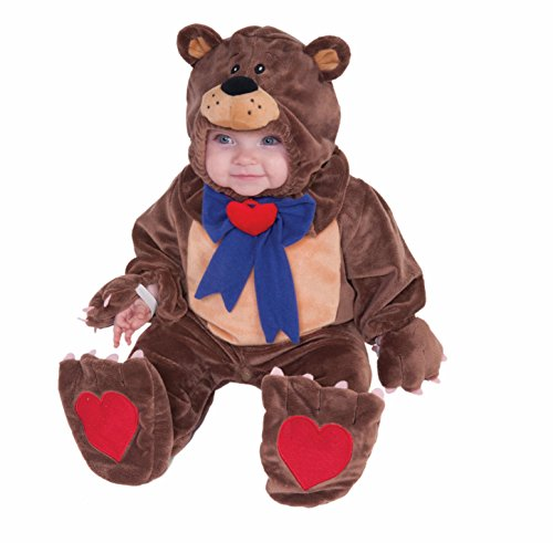 Teddy Bear Costume Baby (Forum Novelties Infant Teddy Bear Costume)