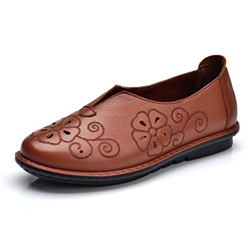 Zapatos de mamá y cuero/Zapatos del estilo chino del/Zapatos retro/ mano-zapatos A