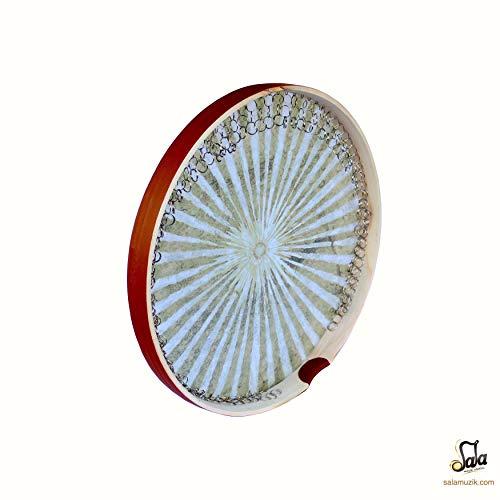 Persian Quality Daf , Erbane , Bendir Drum with Soft Case ()