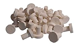 Ceramic Reef Plugs - White (50)