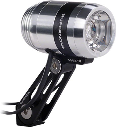 Supernova E3 Pro 2 dynamo bike lights grey by Supernova