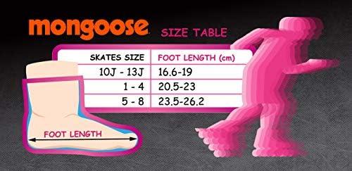 Mongoose Girl's Quad Roller Skates