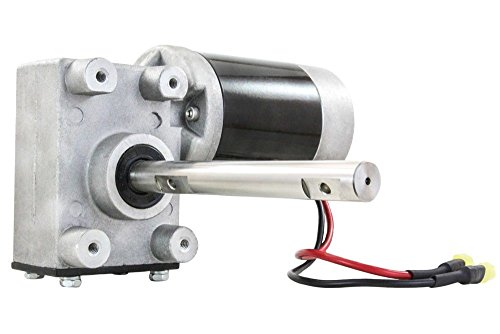 NEW SALT SPREADER MOTOR/GEAR BOX COMBO FOR SNOW-EX 575 1075 D6106 D6107 D6107-06 by Crank-n-Charge