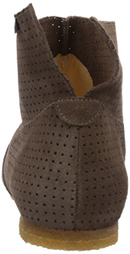 Jonnys Umai - botas de cuero unisex marrón - Braun (Lodo)