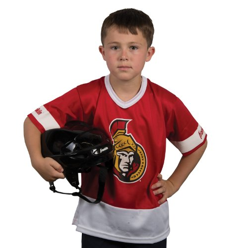Ottawa Senators Helmet - Franklin Sports NHL Ottawa Senators Youth Team Set