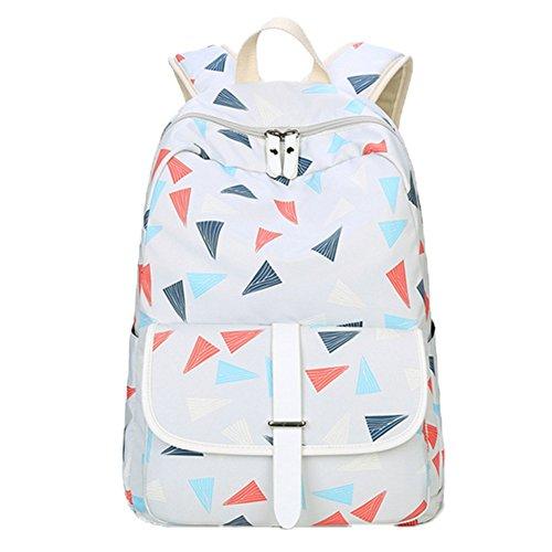 OPSUN - Bolso mochila para mujer Taille Unique gris