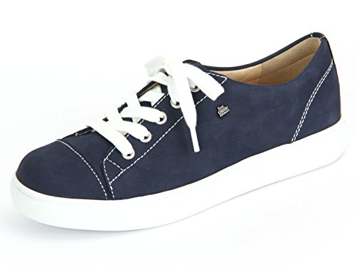 Piel de de Denim Mujer Patagonia Zapatos Comfort Finn Azul Cordones para wxOqgOXC
