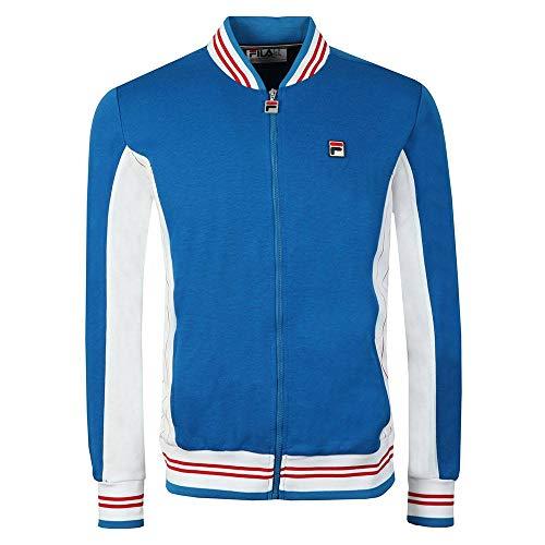 Fila Men's Settanta Track Jacket, Blue, M ()