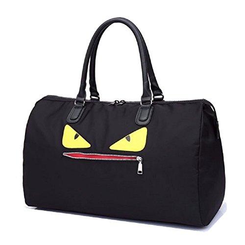 Fair Anywhere Monster Eyes Sports Travel Bag (Large) -