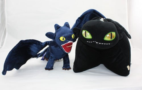 2 x How To Train Your Dragon Toothless