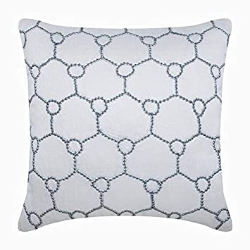Amazon.com: Decorativos fundas de almohada blanco, fundas de ...