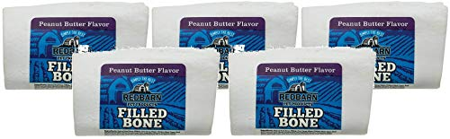 REDBARN Small Peanut Butter Filled Bone (5-Pack)