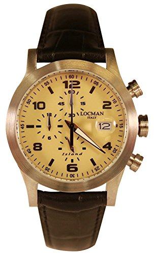 LOCMAN watch ISLAND 0618A04-00SABKPK Men's